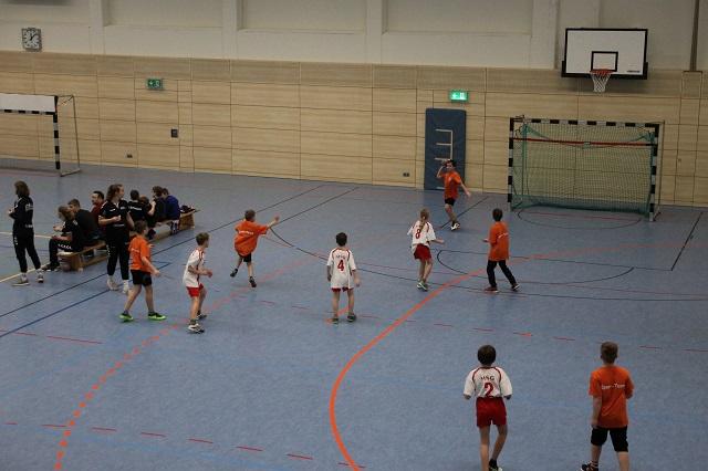 Handballturnier Lerngruppe 4