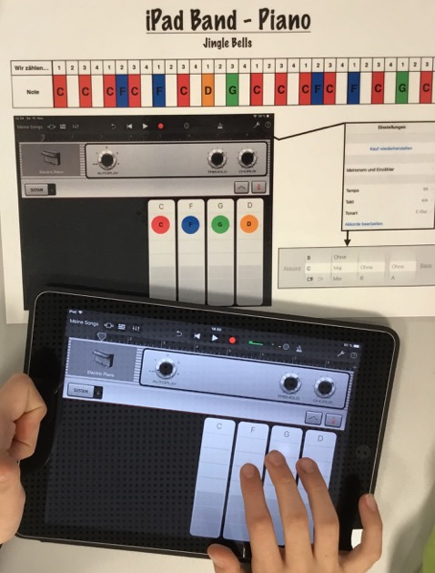 Projekt: iPad-Band