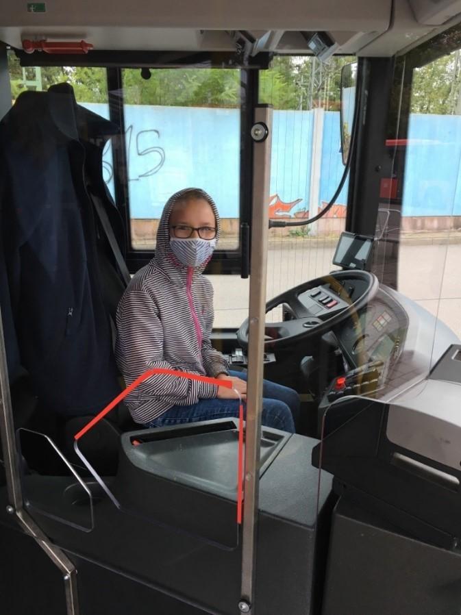 Sicher mit dem Bus unterwegs