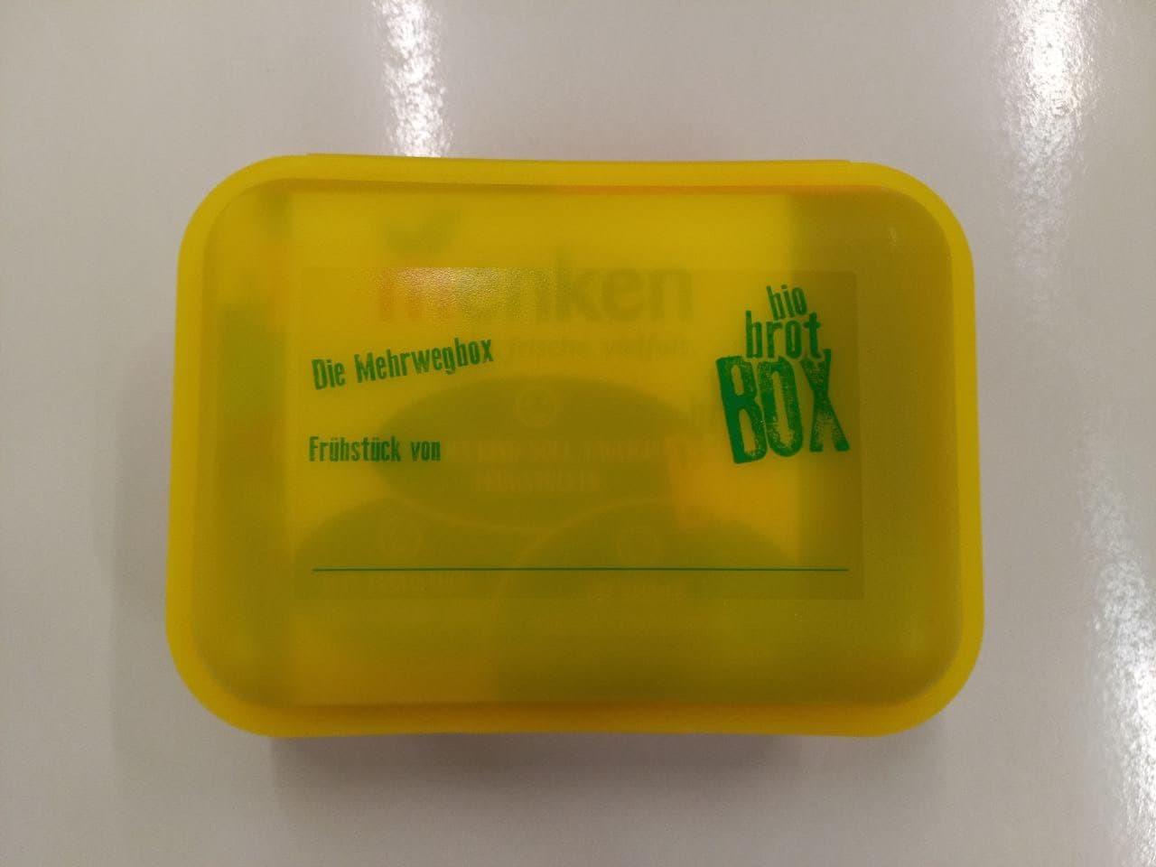 Brotbox vom Biomarkt Menken